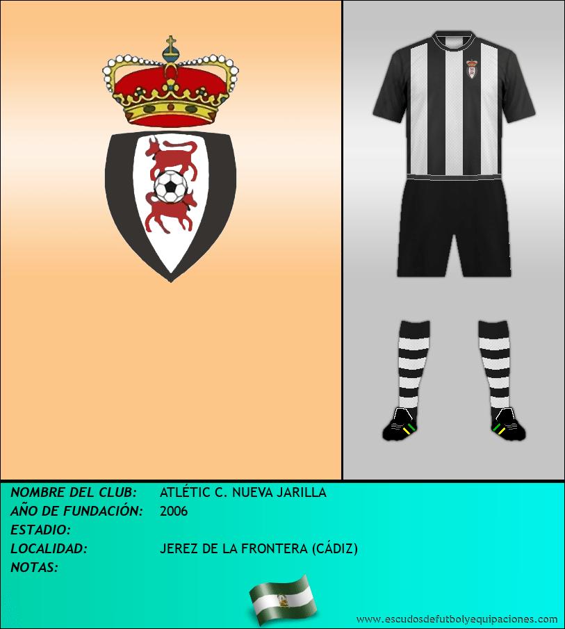 Escudo de ATLÉTIC C. NUEVA JARILLA