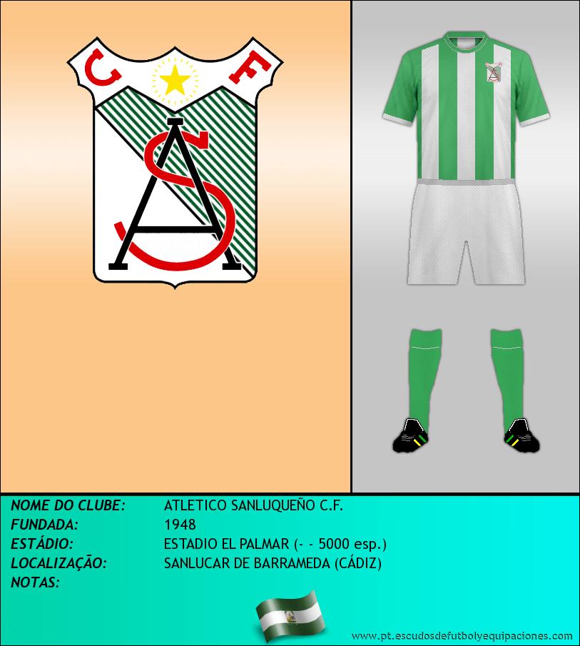 Escudo de ATLETICO SANLUQUEÑO C.F.