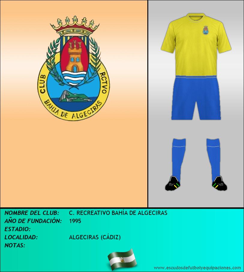 Escudo de C. RECREATIVO BAHÍA DE ALGECIRAS