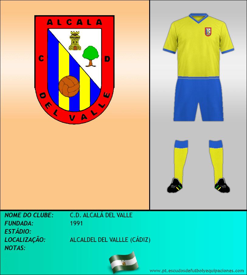 Escudo de C.D. ALCALÁ DEL VALLE