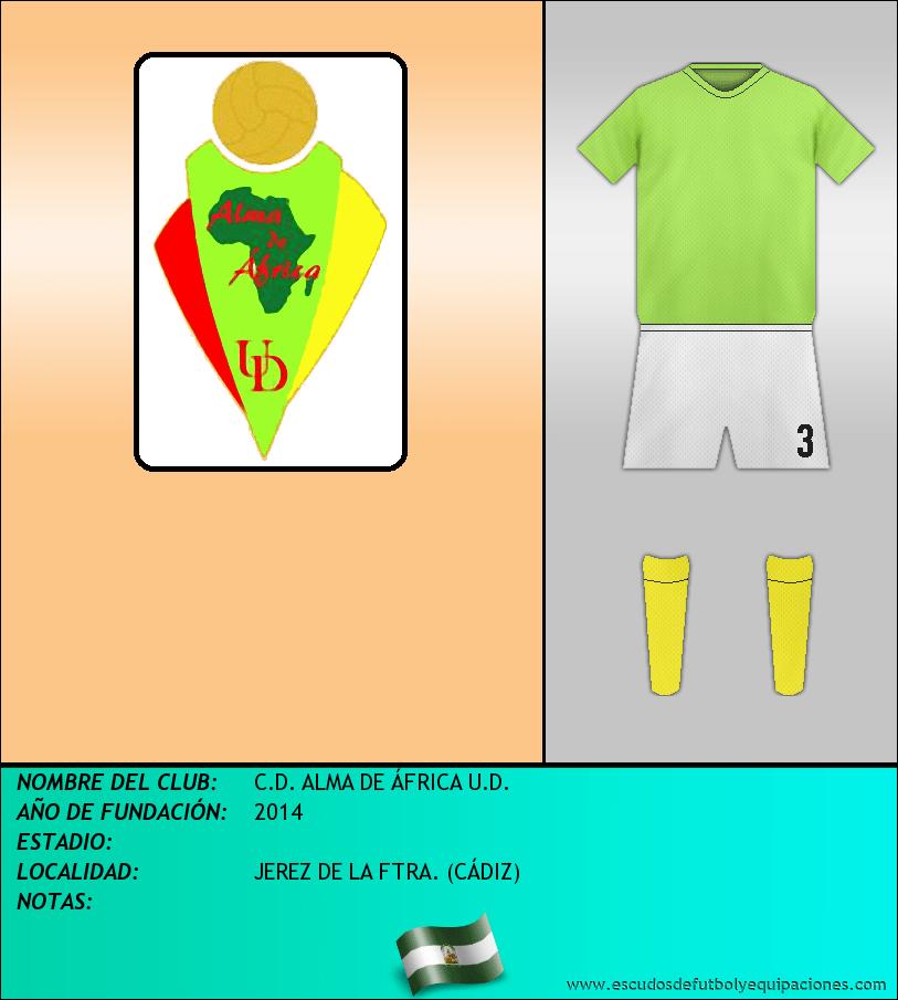 Escudo de C.D. ALMA DE ÁFRICA U.D.