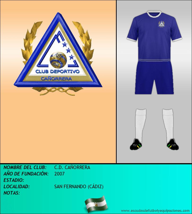 Escudo de C.D. CAÑORRERA