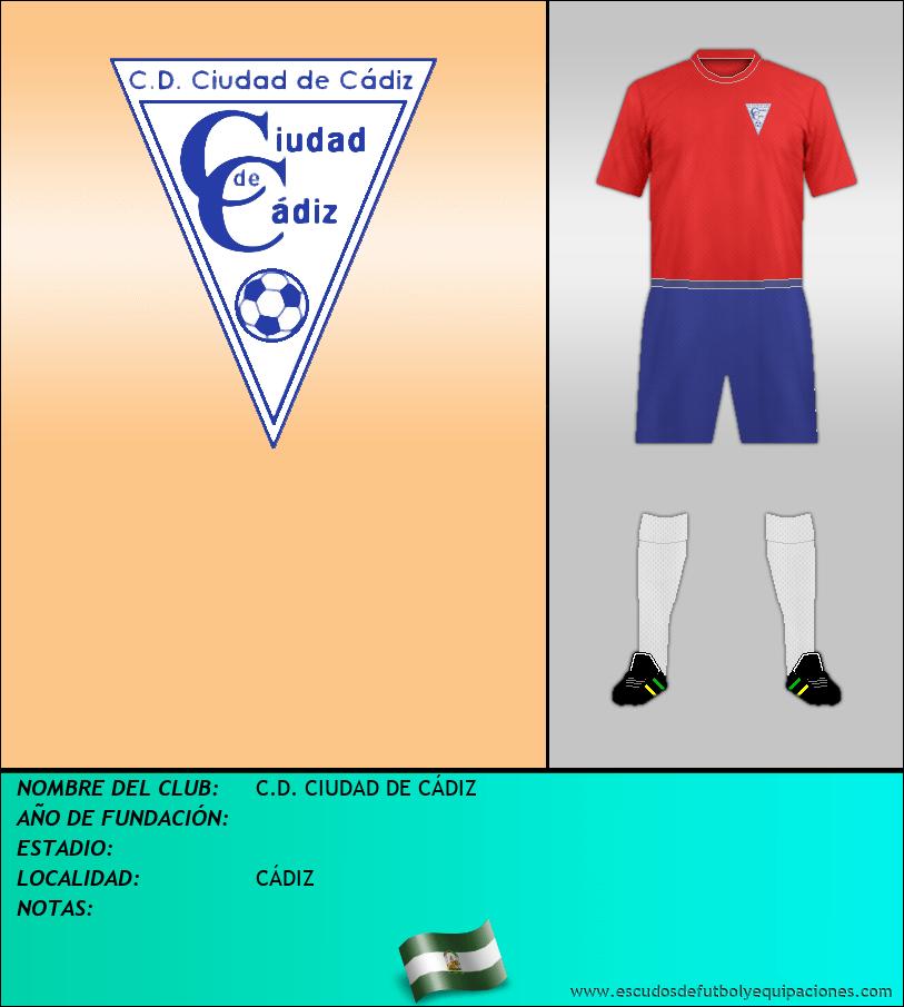 Escudo de C.D. CIUDAD DE CÁDIZ