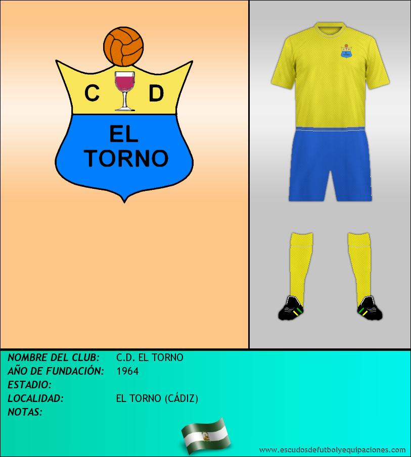 Escudo de C.D. EL TORNO