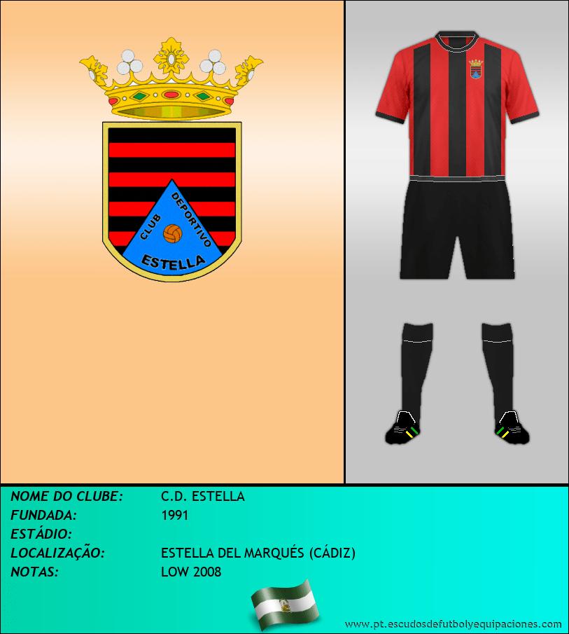 Escudo de C.D. ESTELLA