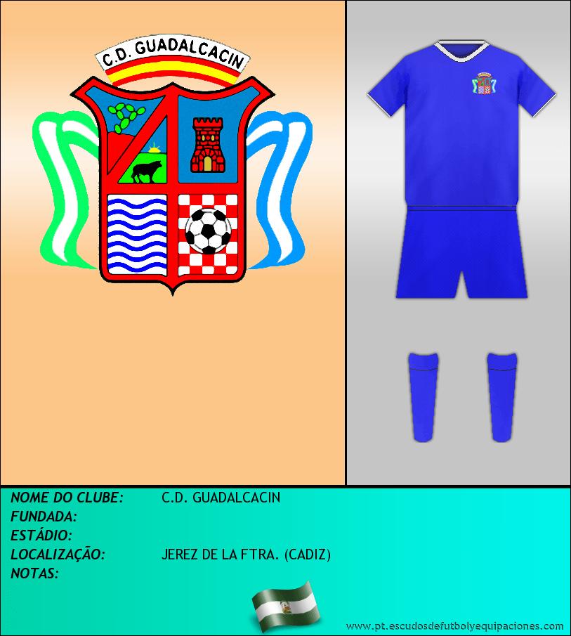 Escudo de C.D. GUADALCACIN