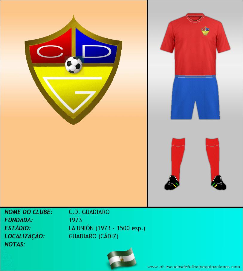 Escudo de C.D. GUADIARO