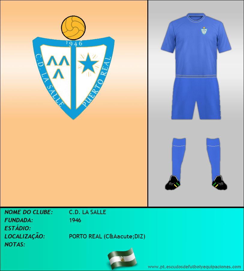 Escudo de C.D. LA SALLE