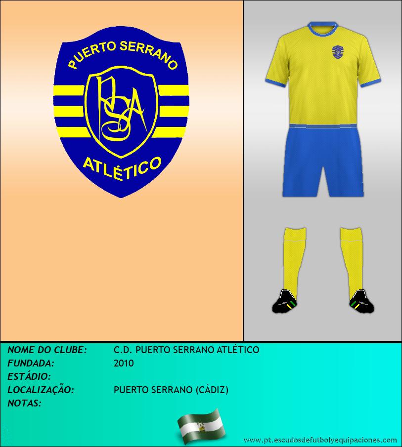 Escudo de C.D. PUERTO SERRANO ATLÉTICO
