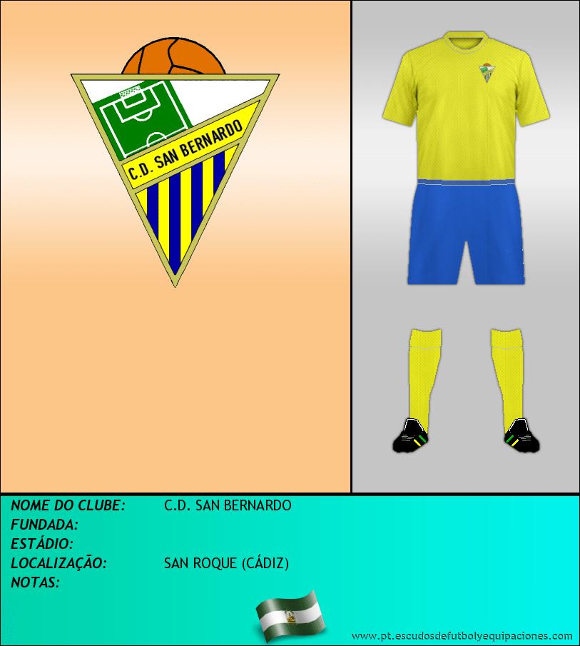 Escudo de C.D. SAN BERNARDO