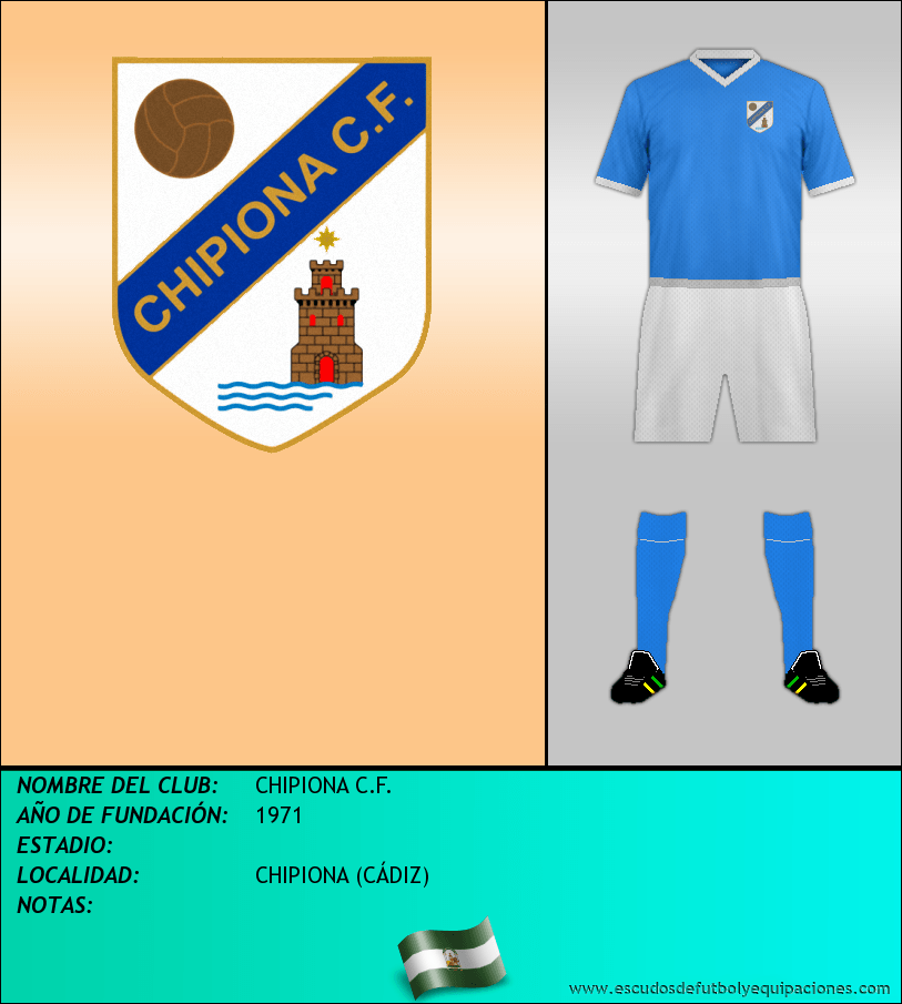 Escudo de CHIPIONA C.F.