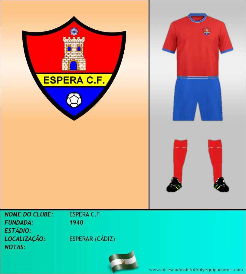 Escudo de ESPERA C.F.