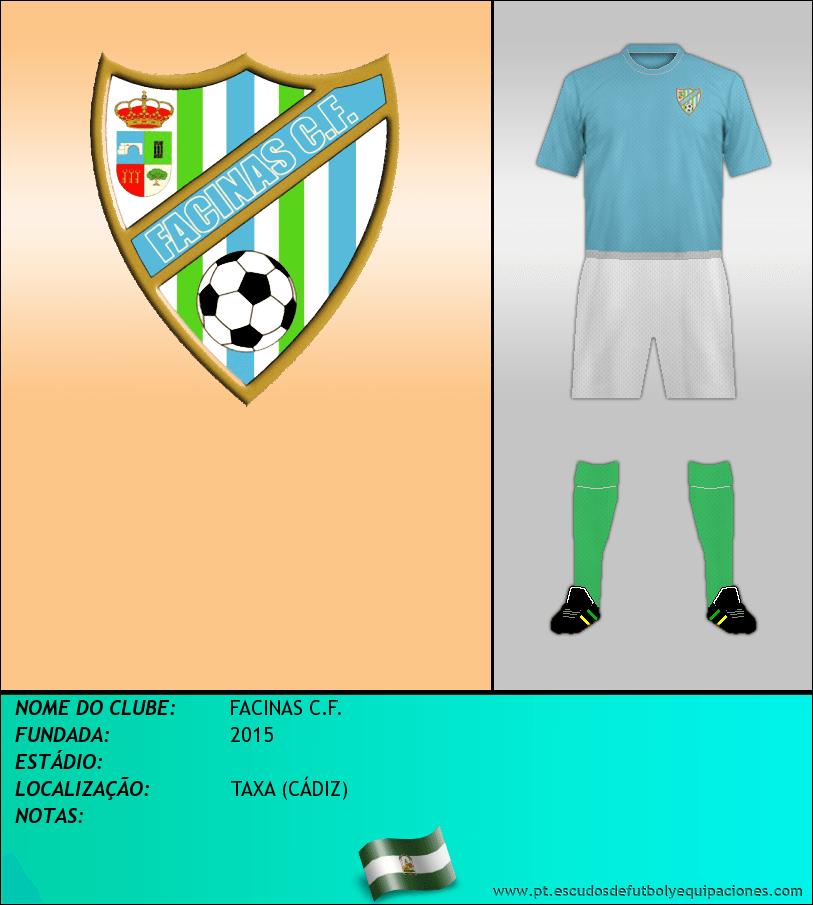 Escudo de FACINAS C.F.