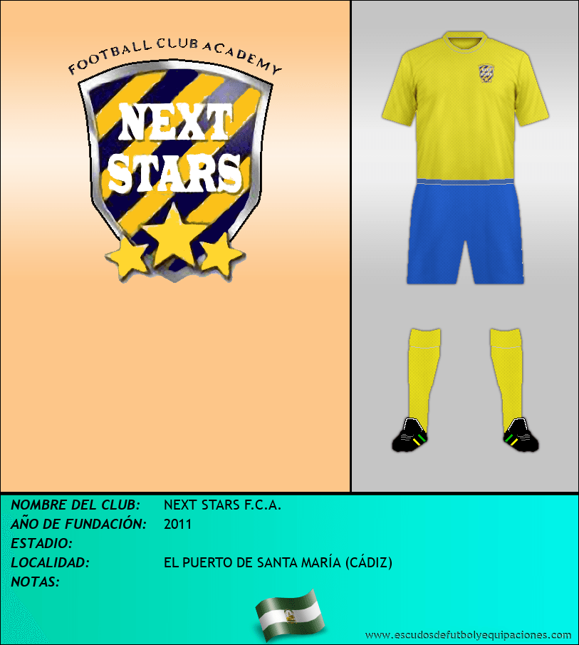 Escudo de NEXT STARS F.C.A.