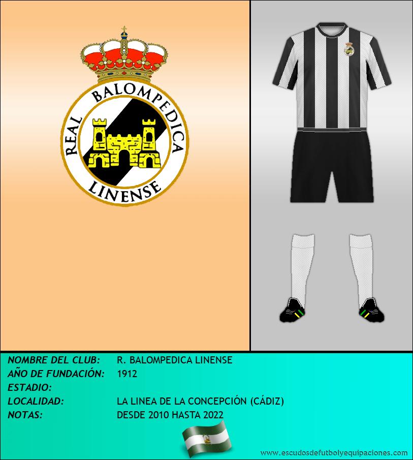 Escudo de R. BALOMPEDICA LINENSE