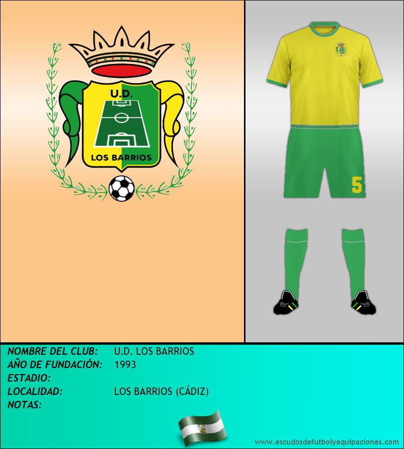 Escudo de U.D. LOS BARRIOS