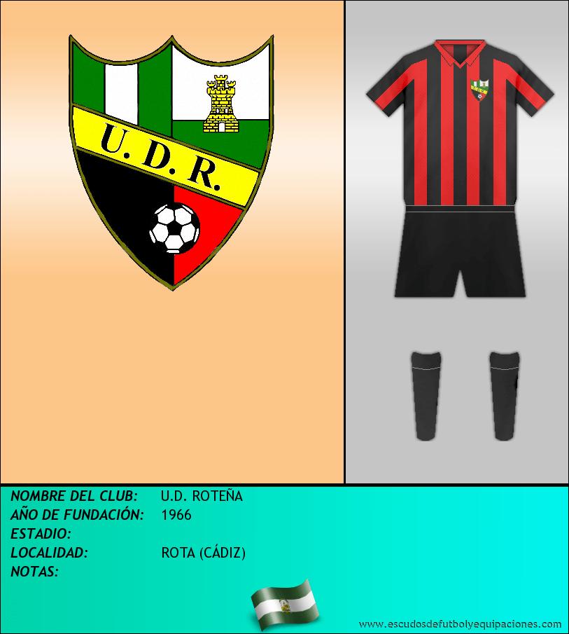 Escudo de U.D. ROTEÑA