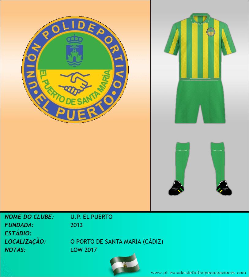 Escudo de U.P. EL PUERTO