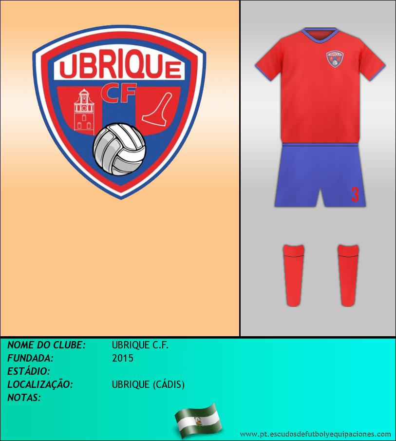 Escudo de UBRIQUE C.F.