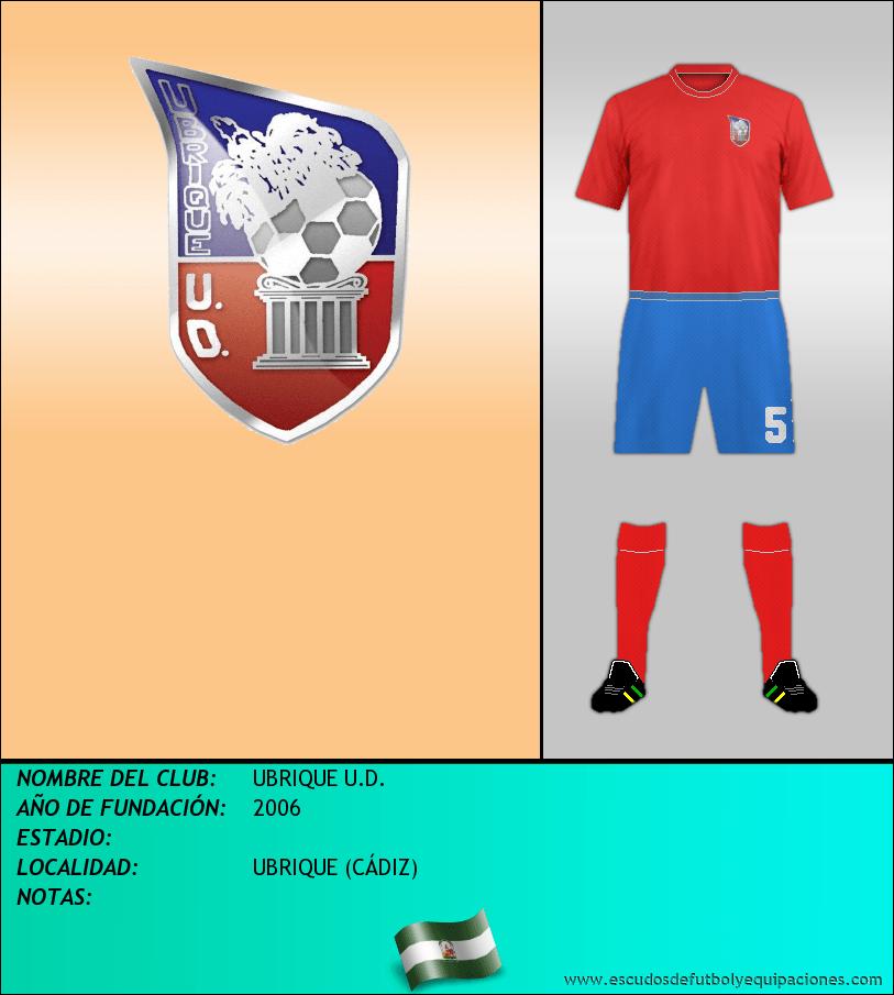 Escudo de UBRIQUE U.D.