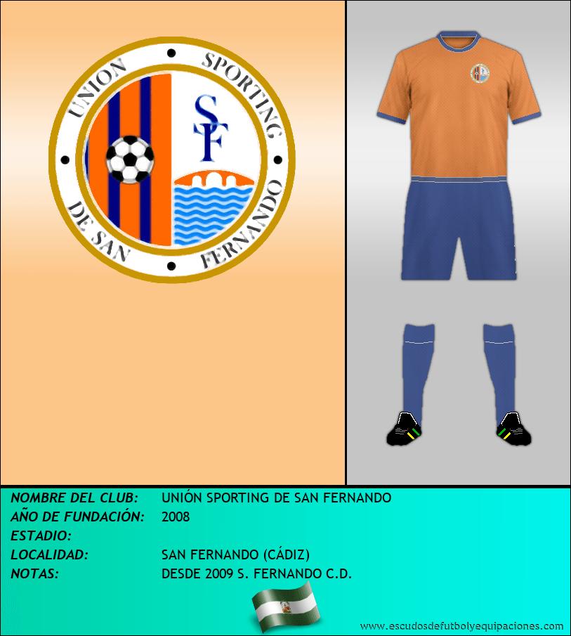 Escudo de UNIÓN SPORTING DE SAN FERNANDO