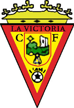 Escudo de LA VICTORIA C.F. (ANDALUZIA)