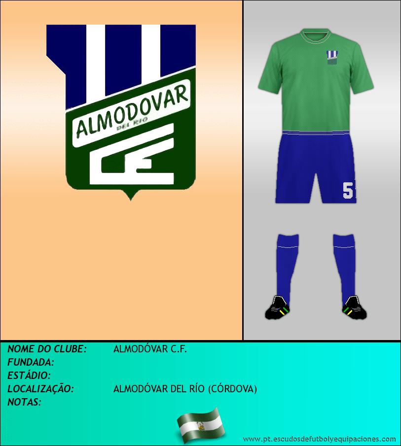 Escudo de ALMODÓVAR C.F.