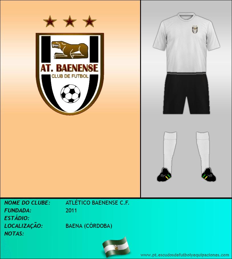 Escudo de ATLÉTICO BAENENSE C.F.