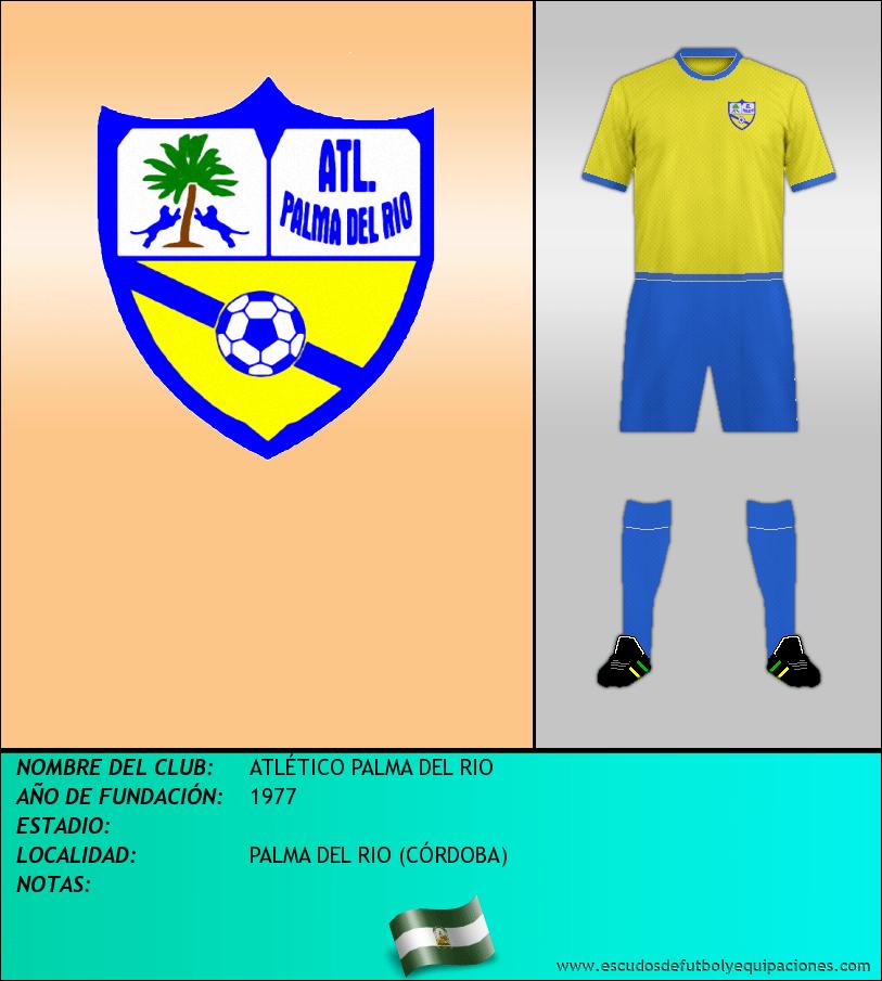 Escudo de ATLÉTICO PALMA DEL RIO