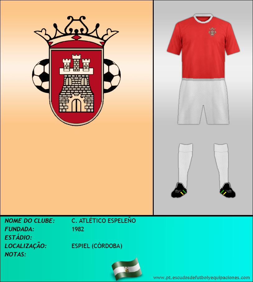 Escudo de C. ATLÉTICO ESPELEÑO