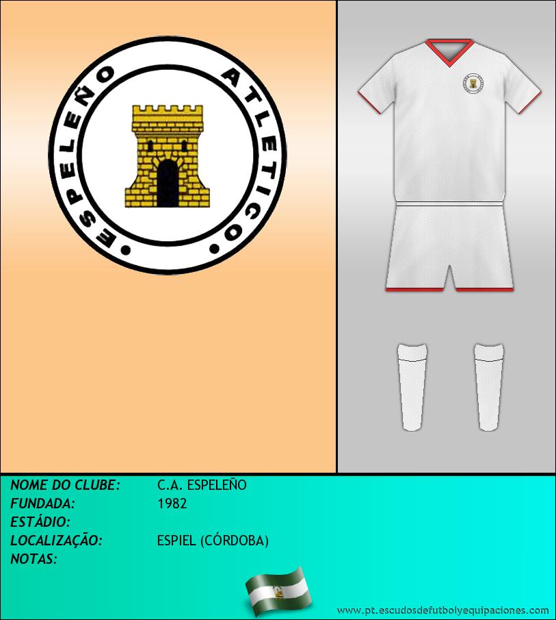 Escudo de C.A. ESPELEÑO