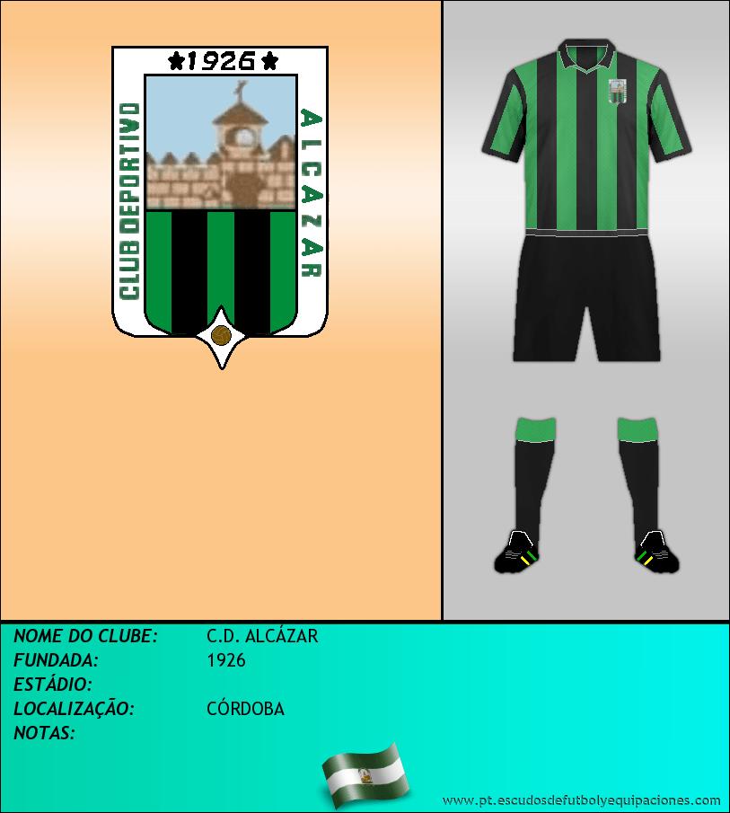 Escudo de C.D. ALCÁZAR