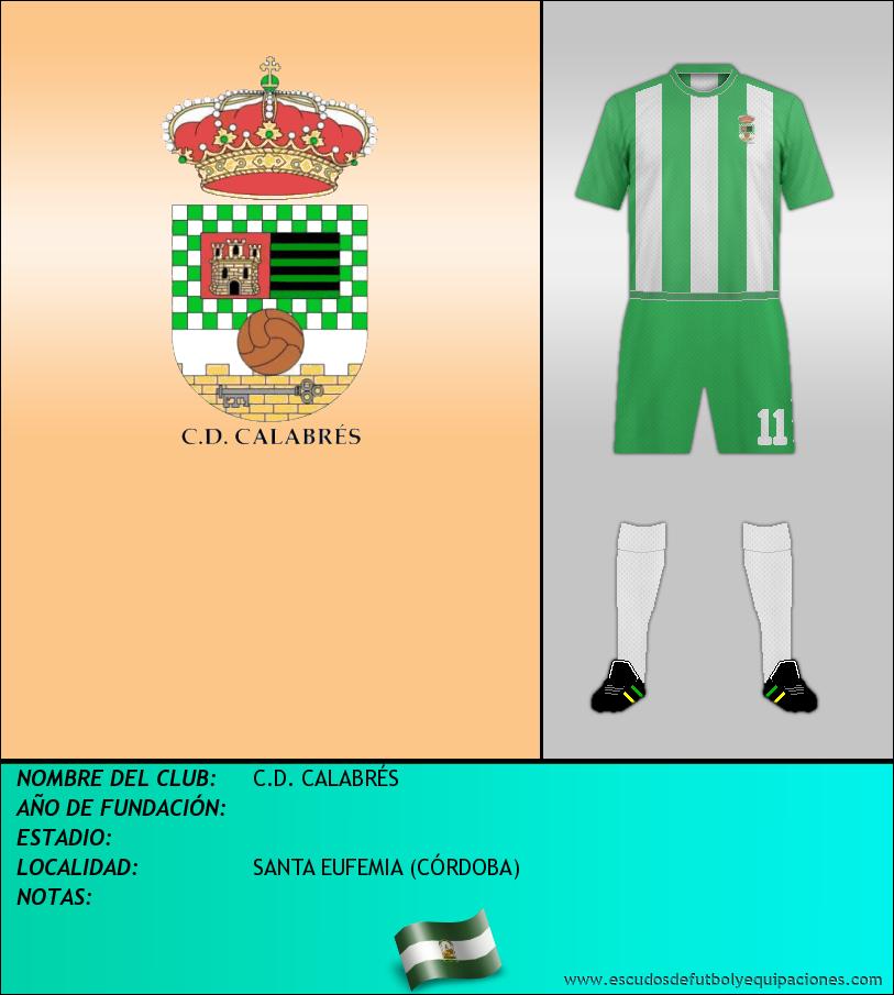 Escudo de C.D. CALABRÉS