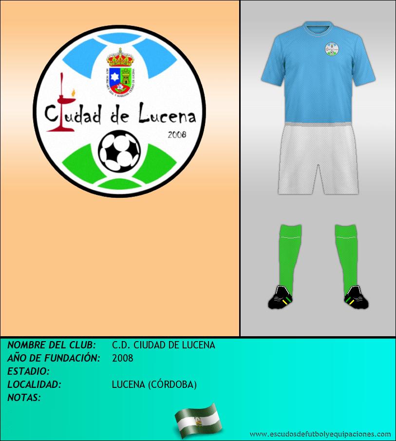 Escudo de C.D. CIUDAD DE LUCENA