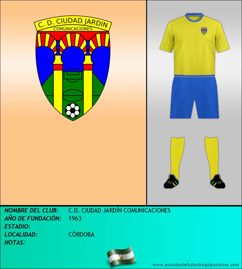 Escudo de C.D. CIUDAD JARDÍN COMUNICACIONES