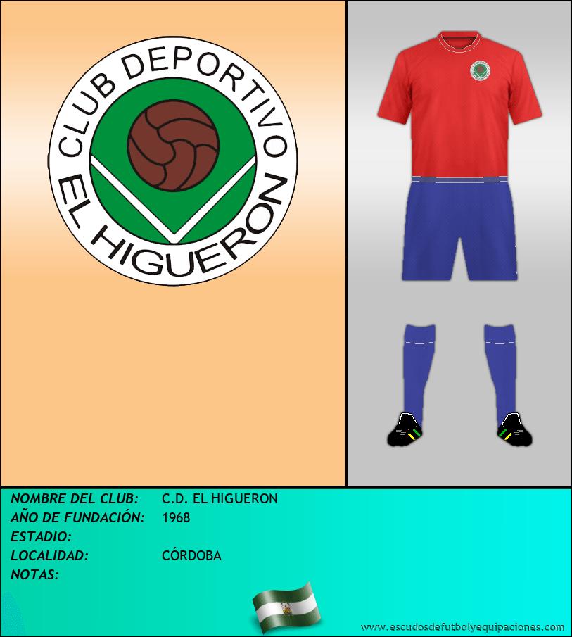 Escudo de C.D. EL HIGUERON