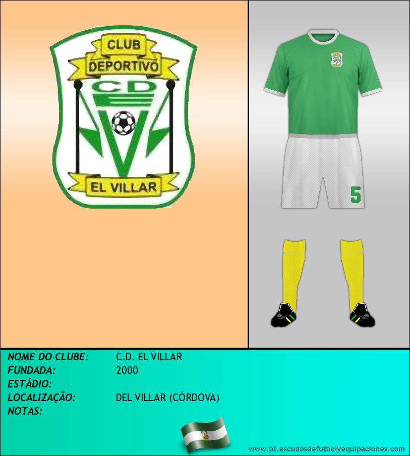 Escudo de C.D. EL VILLAR