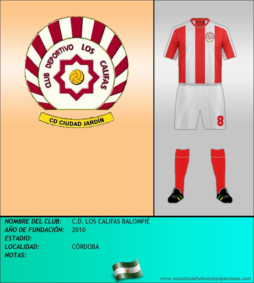 Escudo de C.D. LOS CALIFAS BALOMPIÉ