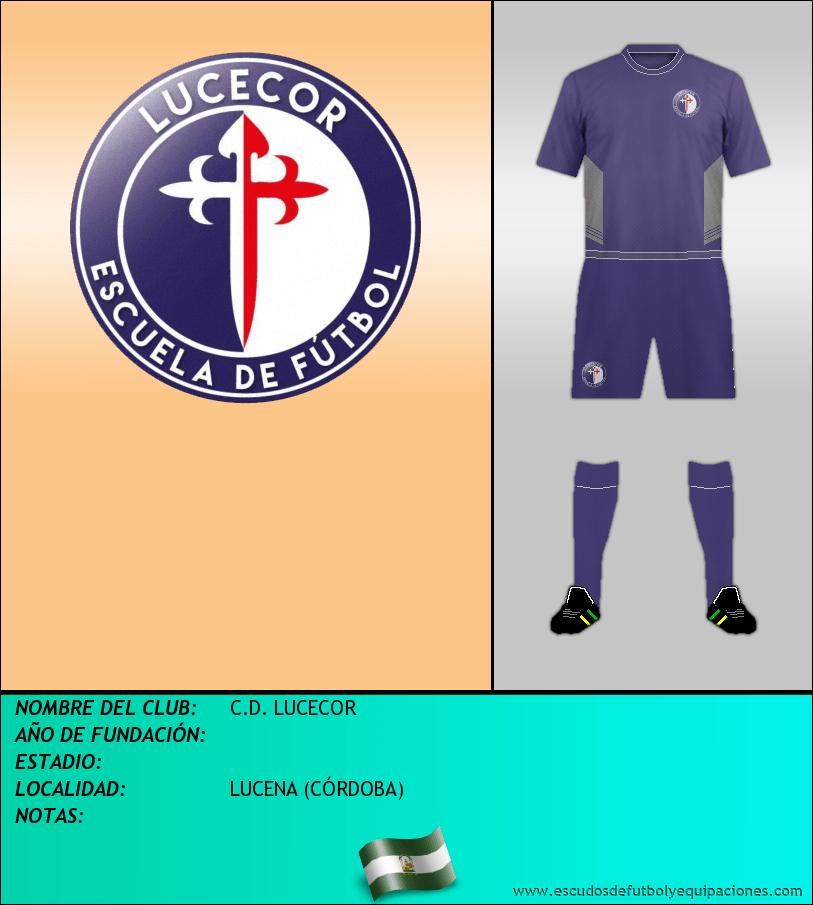 Escudo de C.D. LUCECOR