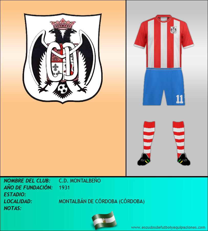 Escudo de C.D. MONTALBEÑO