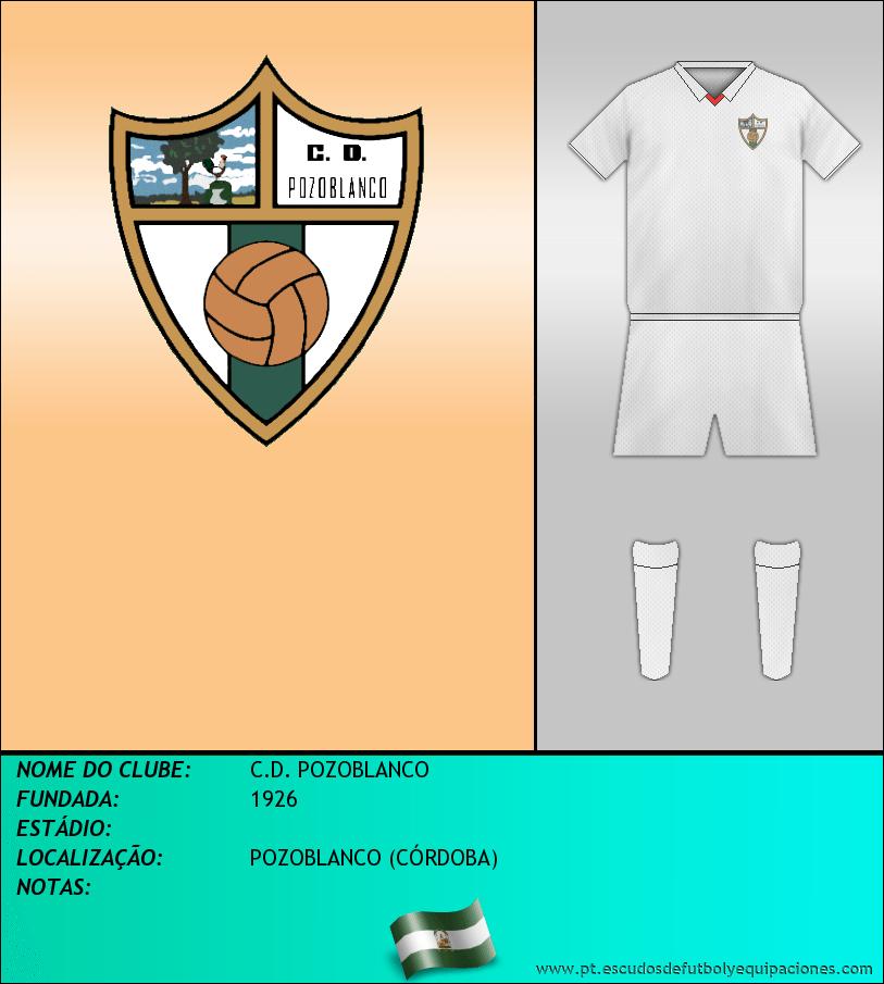 Escudo de C.D. POZOBLANCO