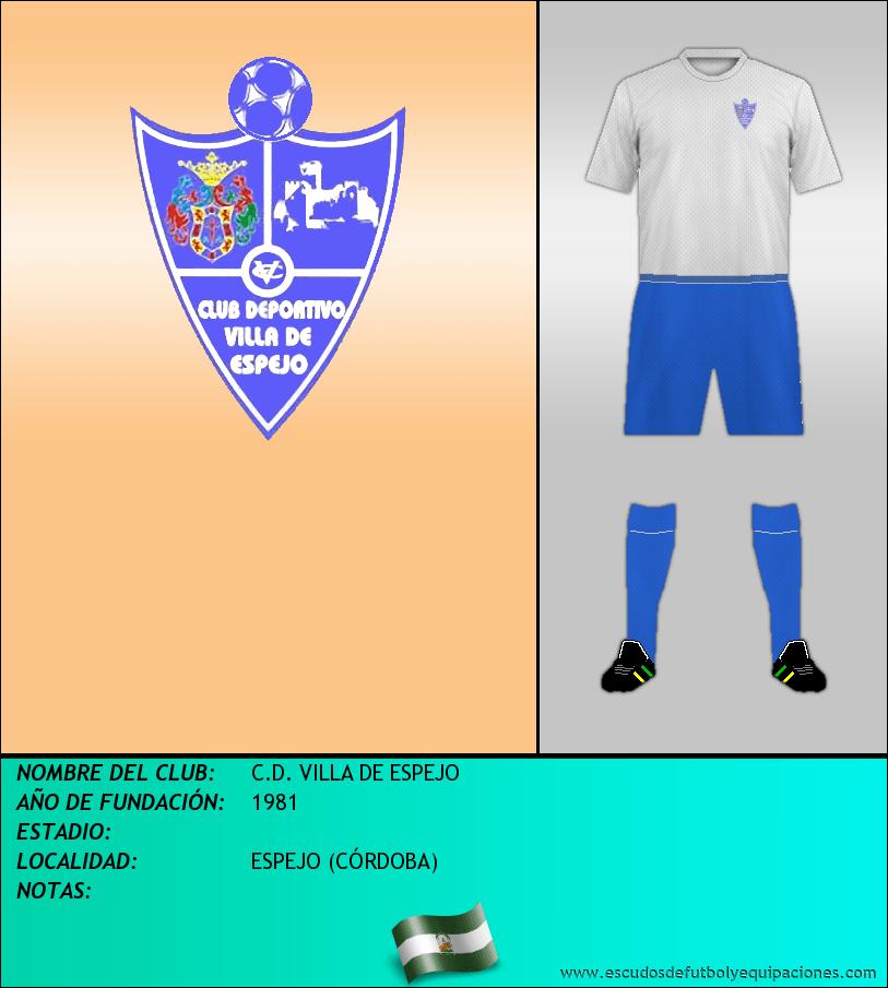 Escudo de C.D. VILLA DE ESPEJO