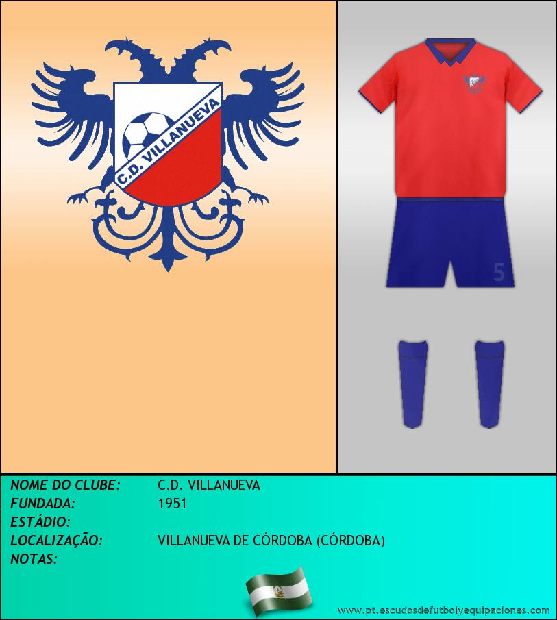 Escudo de C.D. VILLANUEVA