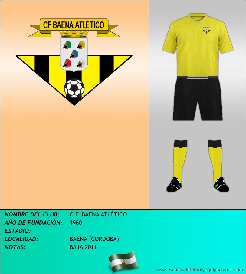 Escudo de C.F. BAENA ATLÉTICO