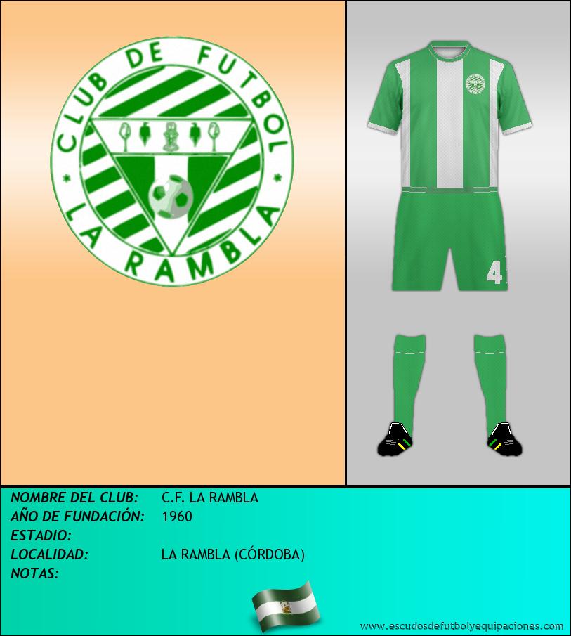 Escudo de C.F. LA RAMBLA