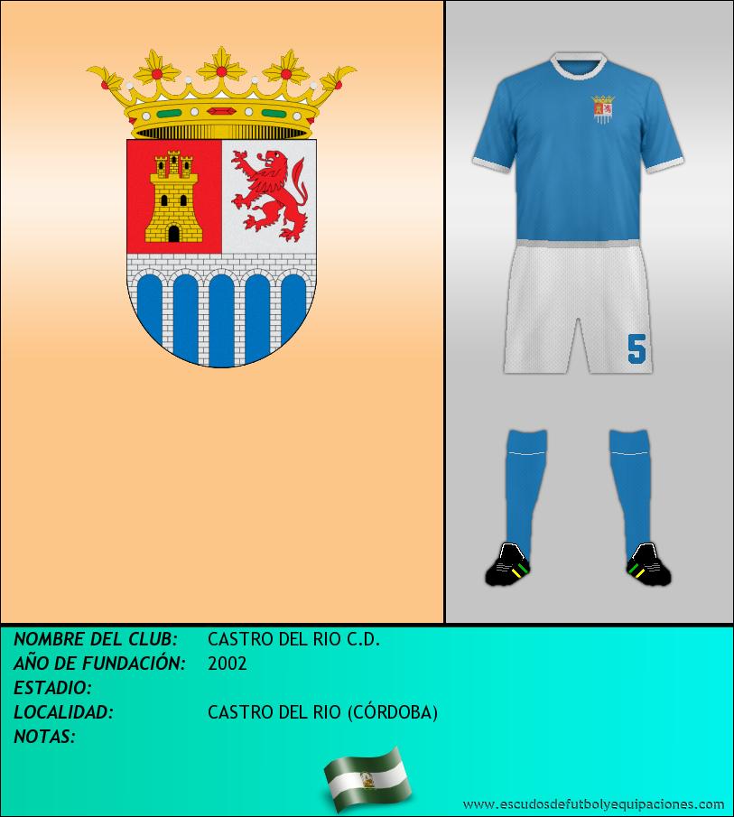 Escudo de CASTRO DEL RIO C.D.