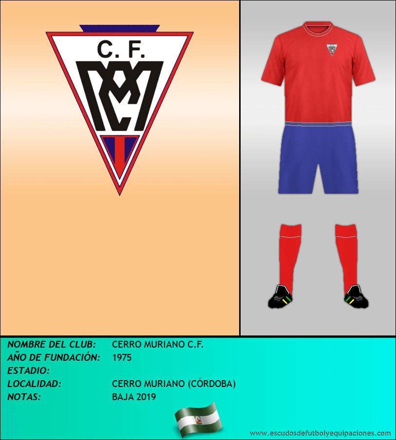 Escudo de CERRO MURIANO C.F.