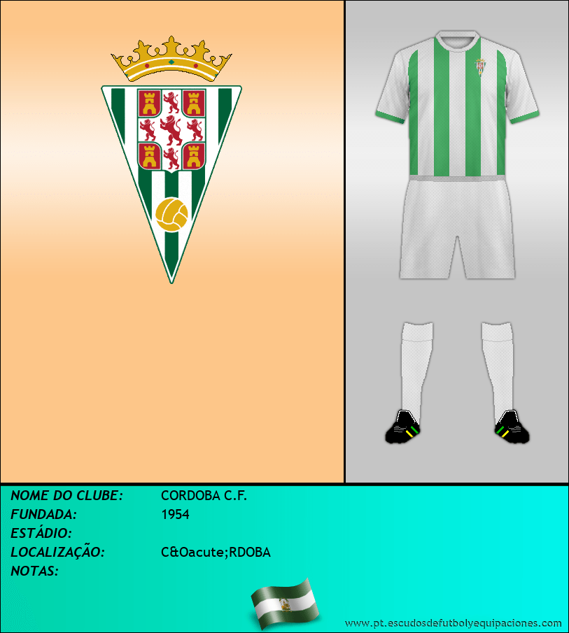 Escudo de CORDOBA C.F.