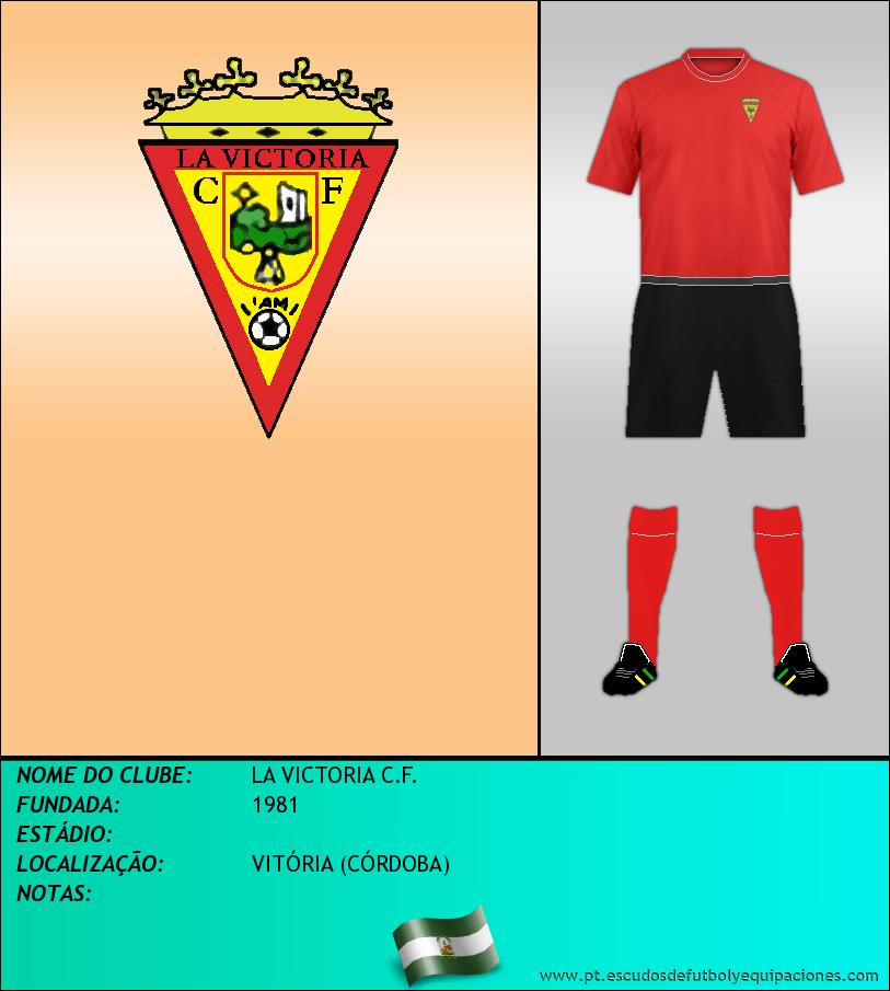 Escudo de LA VICTORIA C.F.