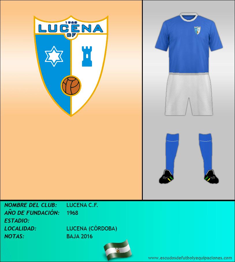 Escudo de LUCENA C.F.